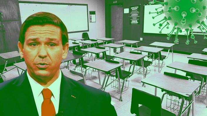Photo Illustration by The Daily Beast/Getty/Handout/United Teachers of Dade