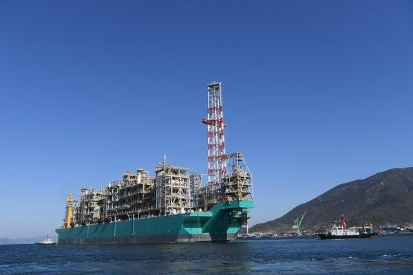 One of PETRONAS key projects, PETRONAS Floating Liquefied Natural Gas 2 (PFLNG2)