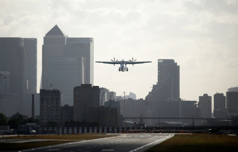 London City Airport says it could cut 35% of staff due to COVID crisis