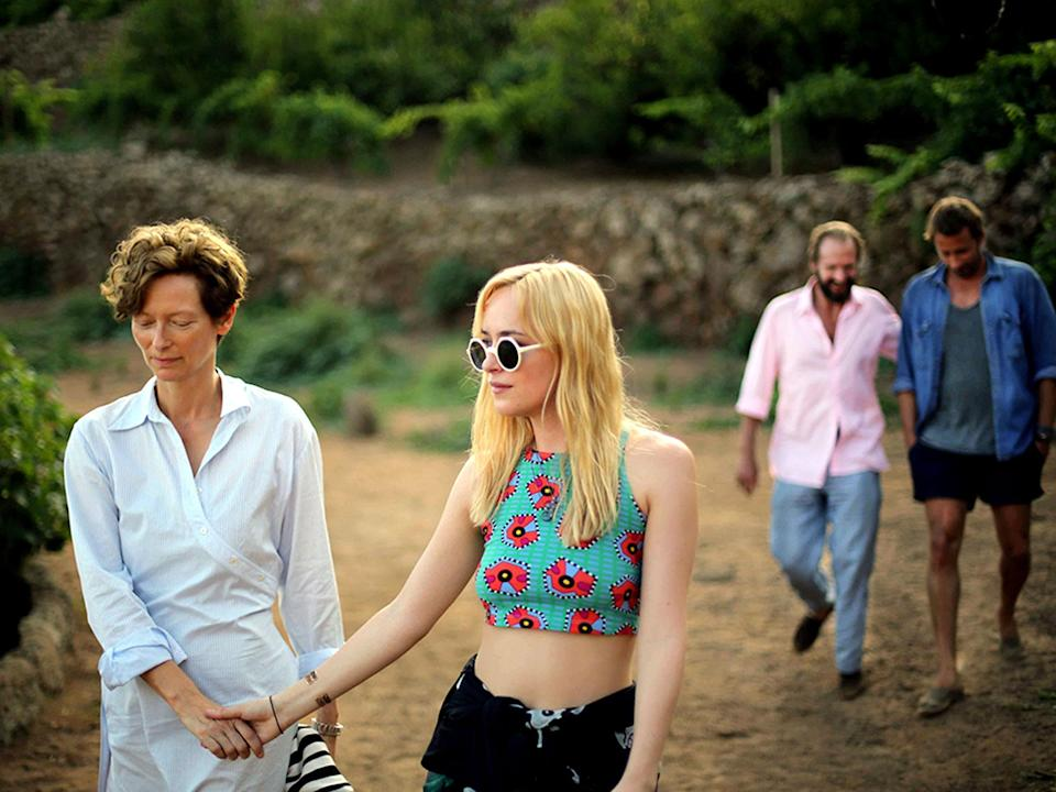The director acknowledges the lack of diversity in his movies such as A Bigger Splash