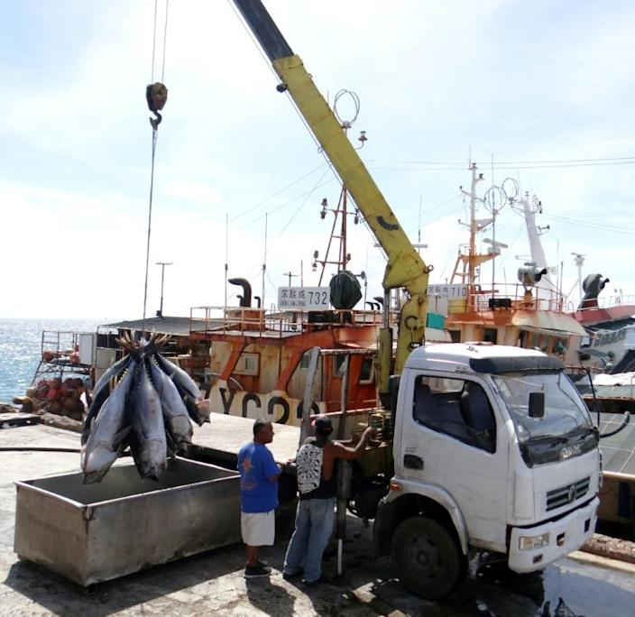 The world's top tuna fishing nations are Indonesia, which landed more than 550,000 tonnes in 2018, followed by Japan, Papua New Guinea, Taiwan, Spain, Ecuador and South Korea