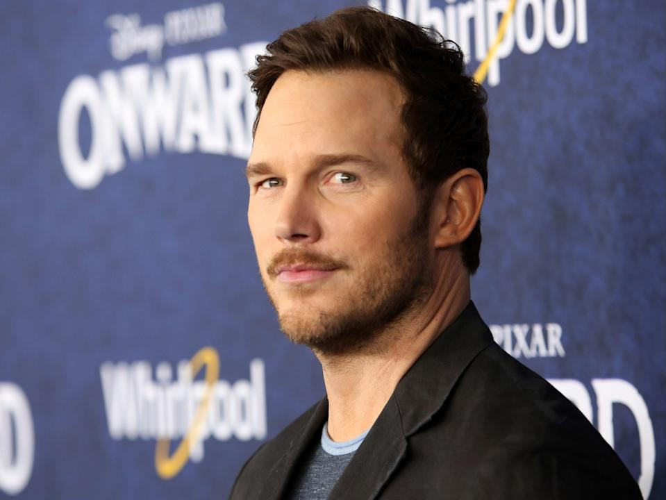 File: Chris Pratt attends the world premiere of Disney and Pixar's ONWARD at the El Capitan Theatre on 18 February, 2020, in Hollywood, California (Getty Images)