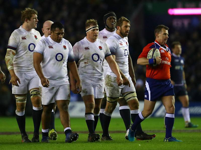 England can no longer win the Grand Slam after defeat by Scotland (Getty)
