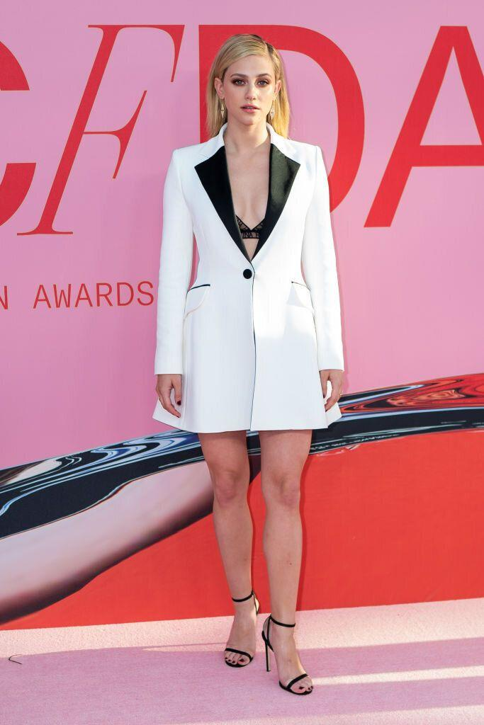 Lili Reinhart at the CFDA Fashion Awards in New York City. [Photo: Getty]