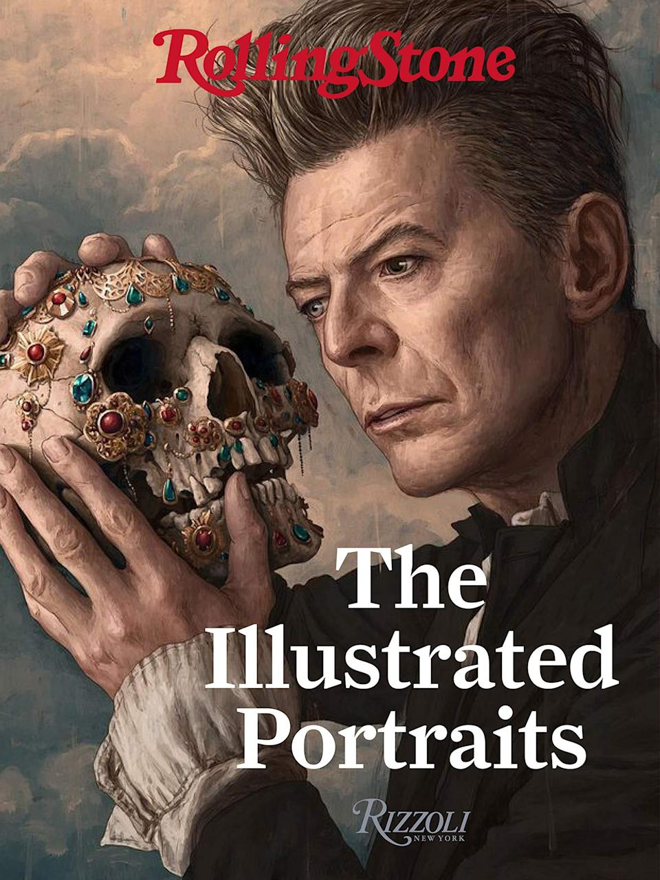 rolling stone illustrated portraits