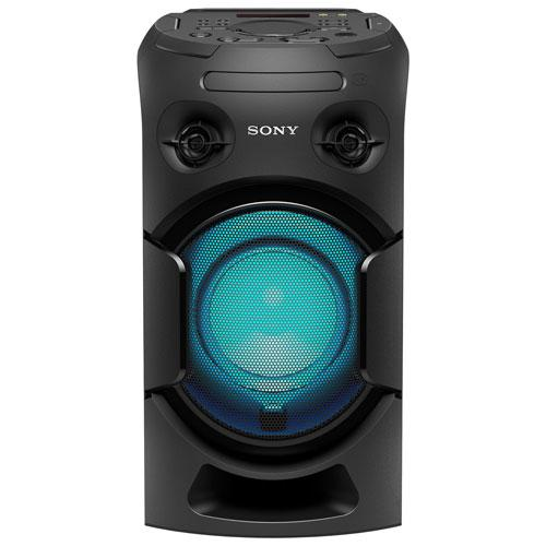 Sony MHC-V21 Bluetooth NFC Wireless Speaker. Image via Best Buy.