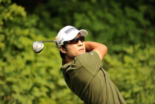 Korea's Kim Kyung-Tae, the world number 52, won last year and in 2007