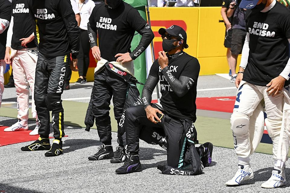 Hamilton calls on F1 teams to do more in racism fight