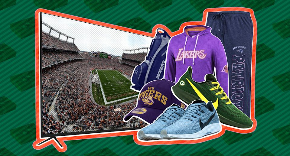 The Yahoo Sports gift guide has everything you need when you're shopping for the sports fan in your life. (Paul Rosales/Yahoo Sports)