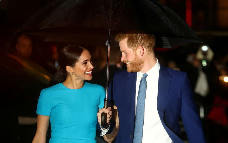 UK's Prince Harry and wife Meghan encourage Americans to vote in 'most important' election