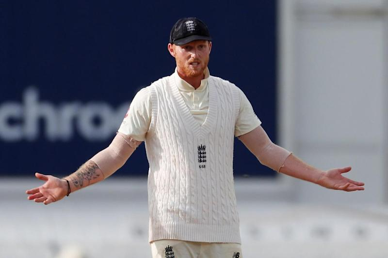 Return: Stokes was back in the England side after missing the Second Test (REUTERS)