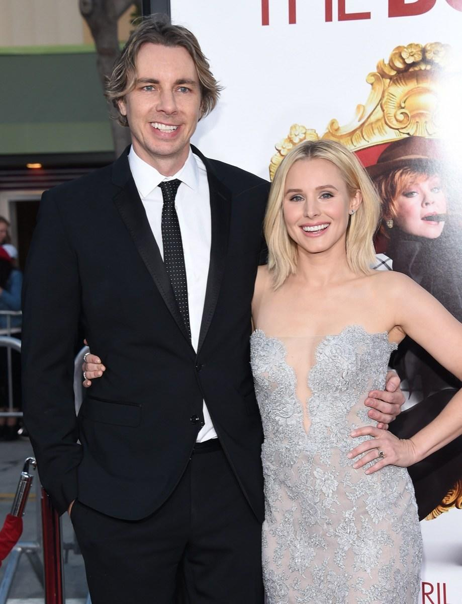 Dax Shepard and Kristen Bell at the premiere of 'The Boss' in 2018
