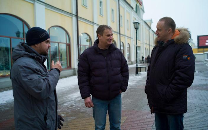 Vasily Grauer, Igor Golov and Vladimir Usachev became friends after being arrested for the participation in a rally in support of Alexey Navalny - Maria Turchenkova