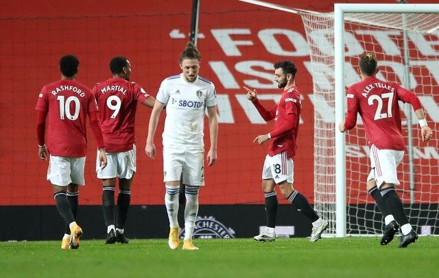 Manchester United thrashed Leeds 6-2 last time out at Old Trafford