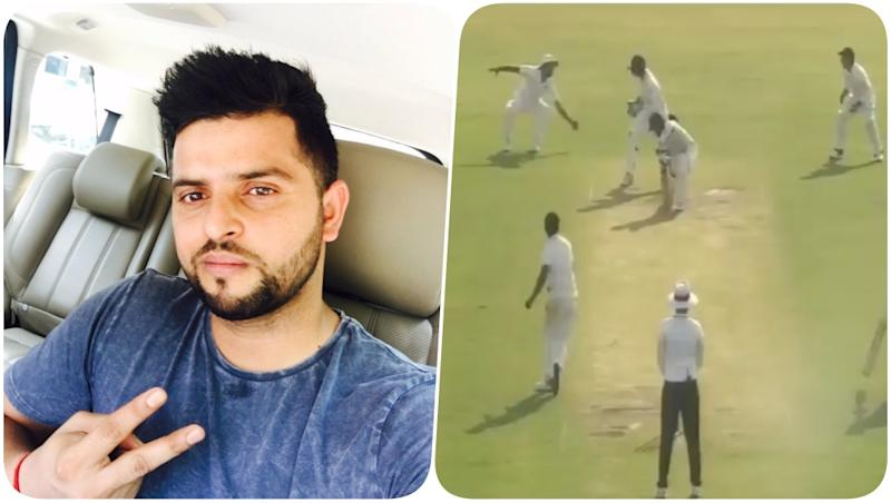 Suresh Raina Takes a Stunning Catch Against Odisha on Day 1 of Ranji Trophy 2018-19 (Watch Video)