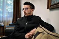 'We came to realise we are abandoned,' says Alexandru Tantu, an HIV positive IT specialist (AFP/Daniel MIHAILESCU)