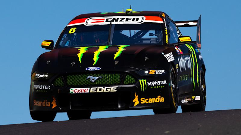 Cameron Waters, pictured here in action during the first practice session for the Bathurst 1000.