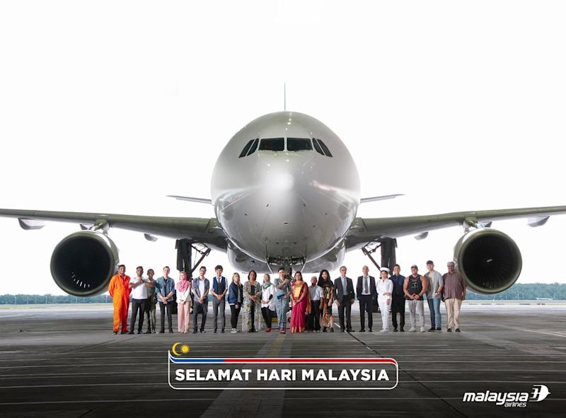 Malaysia Airlines Berhad releases a special video to mark Malaysia Day.