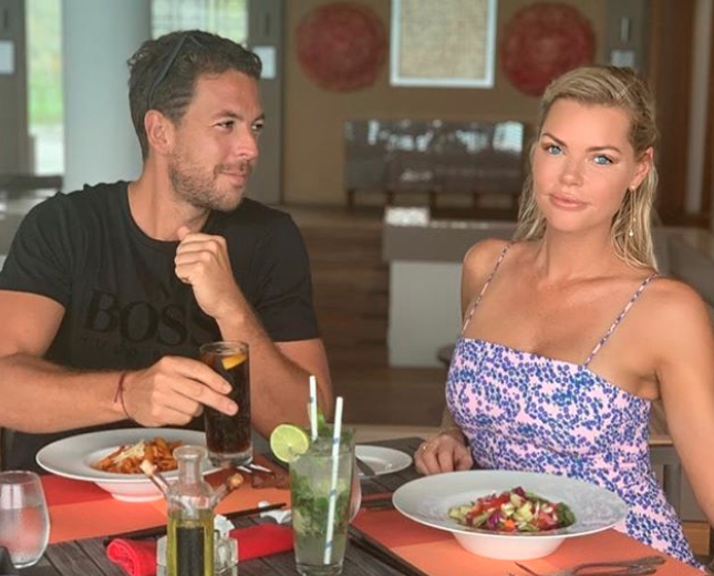 The TV personality and her boyfriend are loved uand ready to tie the knot. Photo: Instagram/joshuargross