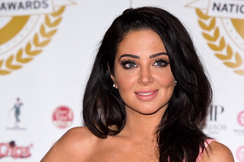 LONDON, ENGLAND - MARCH 31:  Tulisa Contostavlos attends the National Film Awards at Porchester Hall on March 31, 2015 in London, England.  (Photo by Ben A. Pruchnie/Getty Images)