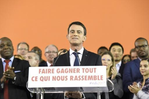 French PM Manuel Valls joins presidential race