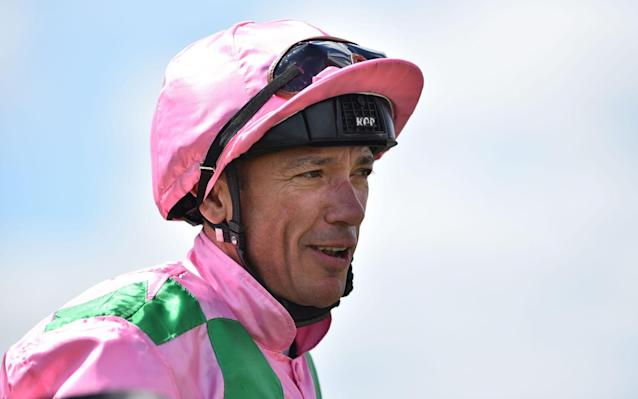 Frankie Dettori rode A'Ali to victory in the Darley Prix Robert Papin - AFP