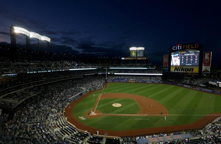 The New York Mets play the Los Angeles Dodgers at Citi Field in New York in September 2019