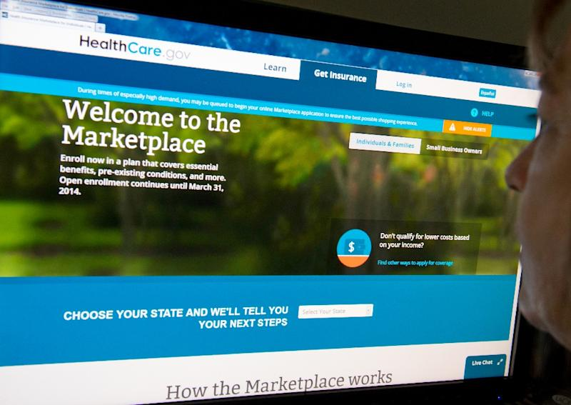 Health insurance provided through the Affordable Care Act marketplace could be getting up to 68 percent more expensive next year in some states (AFP Photo/Karen Bleier)