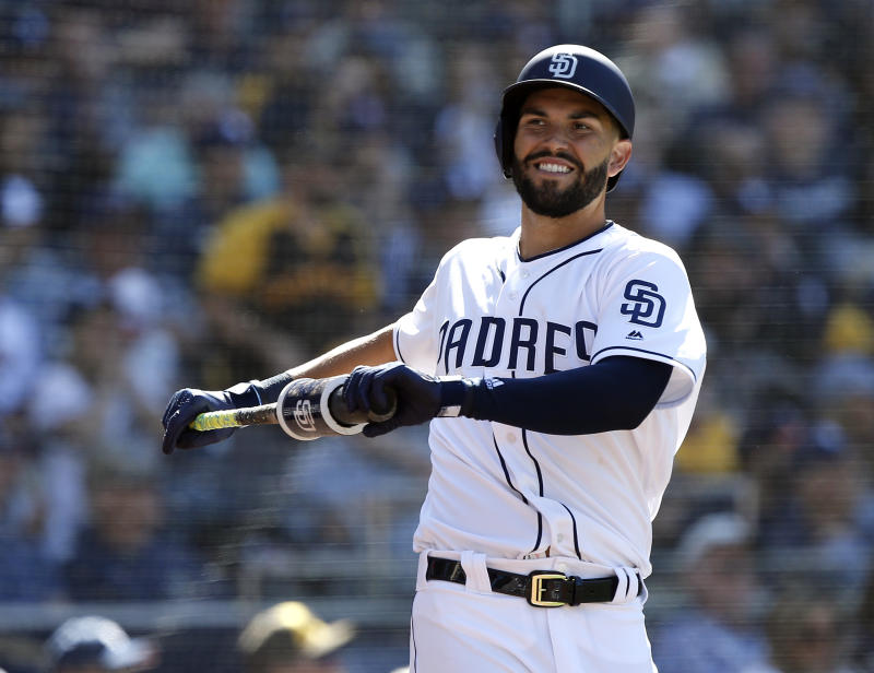 A-Rod says the Padres signing Eric Hosmer was the best move of the offseason. (AP)