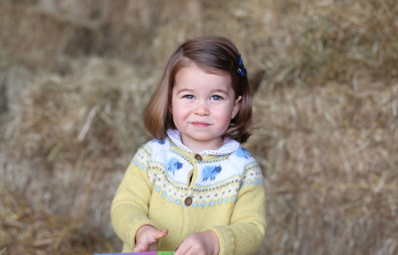 """<p>The Duchess of Cambridge shared a photo of Charlotte taken in April to celebrate her second birthday. """"The Duke and Duchess are very pleased to share this photograph as they celebrate Princess Charlotte's second birthday,"""" the caption on the Instagram from @kensingtonroyal reads. """"Their Royal Highnesses would like to thank everyone for all of the lovely messages they have received, and hope that everyone enjoys this photograph of Princess Charlotte as much as they do."""" (Photo: @KensingtonRoyal/Instagram) </p>"""