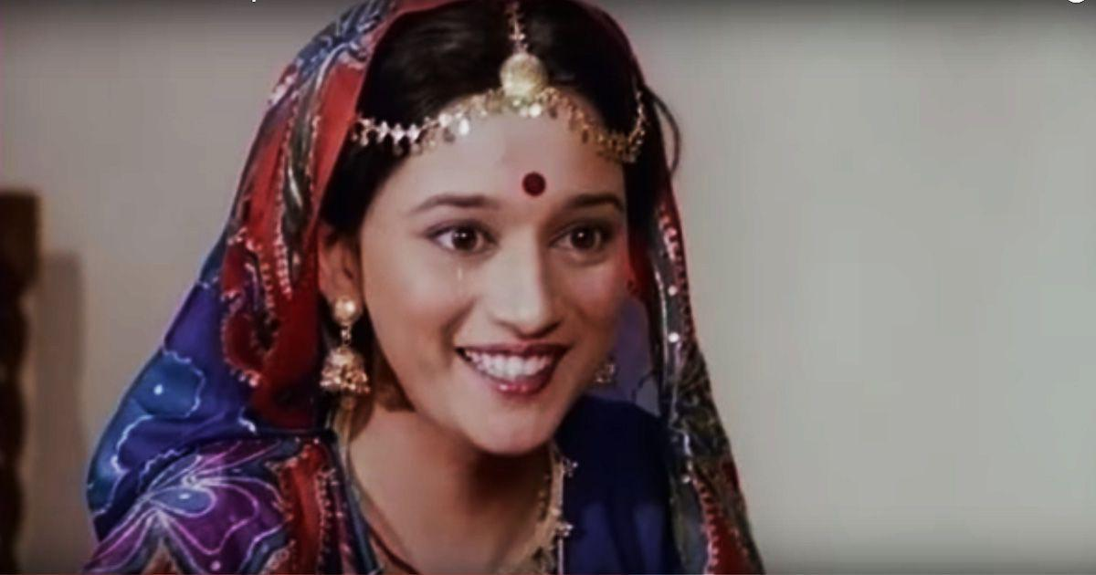 """<p>Launched at the tender age of 17, Madhuri started her innings with the failed and forgotten, <em>Abodh</em>. But she didn't fail to woo the critics who recognized her innocent charm, and moviemakers like Subhash Ghai saw in her a """"Volcano of talent!"""". The start was dormant indeed, but now that she had her foot in the door, many new doors laid opened in front of her. The start of the crescendo was around the corner, but it had to wait of few more years till her stardom took off in full swing. </p>"""