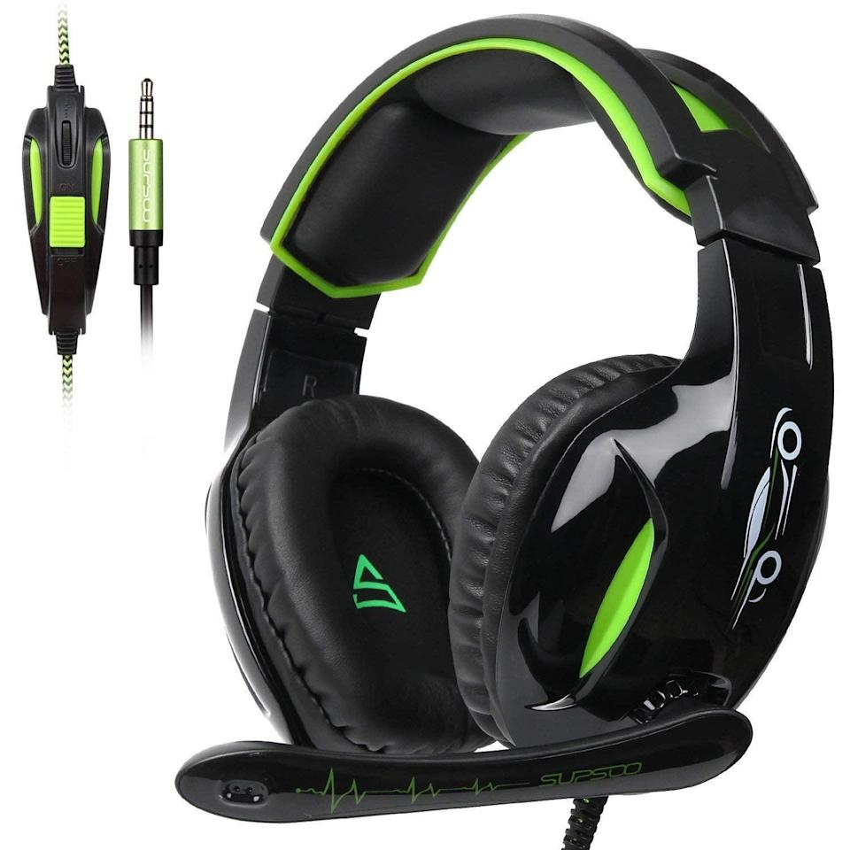 <p>If you're getting into gaming in 2019, this <span>Supsoo G813 Xbox One Gaming Headset</span> ($25) will be your new best friend.</p>
