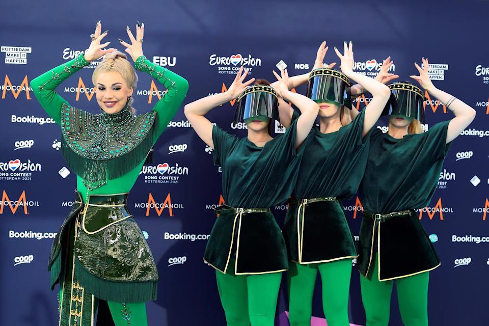 Opening ceremony of the 2021 Eurovision Song Contest in RotterdamREUTERS