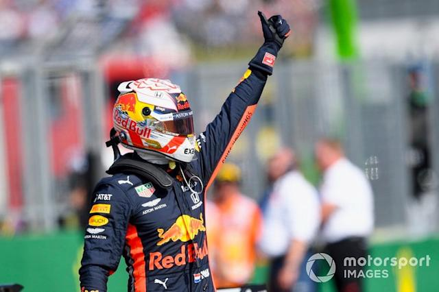 """Budapest: Max Verstappen (Red Bull) <span class=""""copyright"""">Jerry Andre / Sutton Images</span>"""