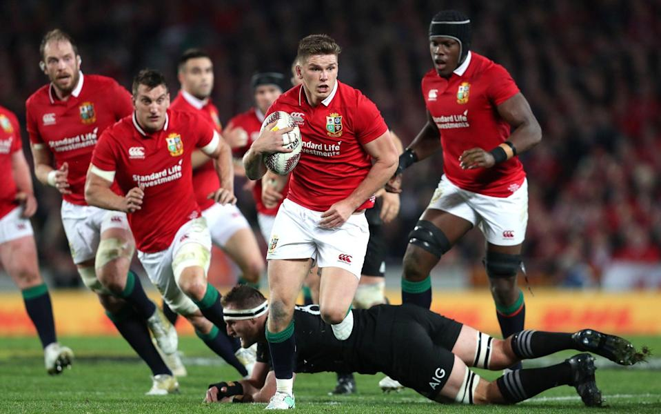 Owen Farrell and Britain and Ireland's finest are set to face the Springboks next summer - PA