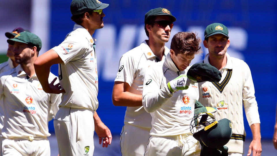 Australia lost to India by eight wickets in the Boxing Day Test, levelling the four-Test series at one-all. (Photo by WILLIAM WEST/AFP via Getty Images)