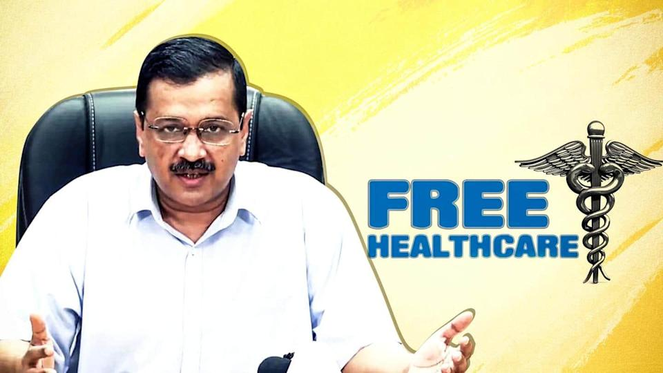 Free health services if AAP wins 2022 Punjab elections: Kejriwal