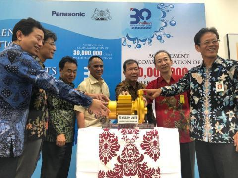 Panasonic's Cumulative Water Pump Production in Indonesia Tops 30 Million Units
