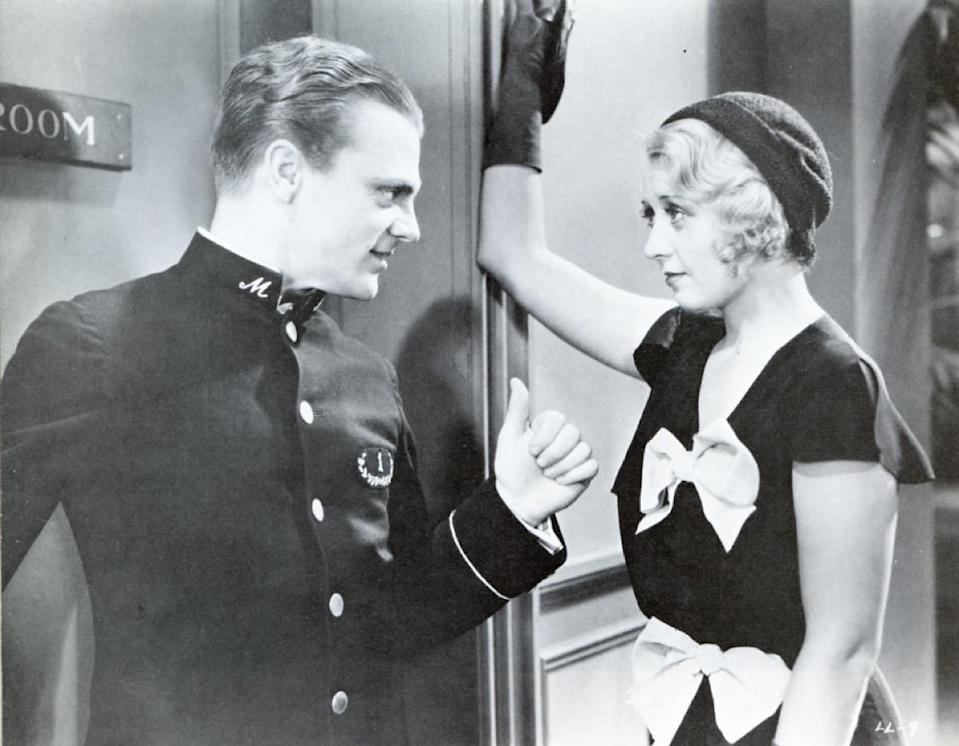 """They're the most infamous three words that <strong>James Cagney</strong> ever said on film. Well, allegedly. It's difficult to pinpoint their origin. In the 1931 movie <em>Blonde Crazy</em>, he does say this: """"Oh, that dirty, double-crossin' rat. I'd like to get my own hooks on him. I'd tear him to pieces."""" Which is at least close, right? And then in the 1932 movie <em>Taxi!</em>, he calls somebody a """"dirty, yellow-bellied rat,"""" which is, again, at least in the vicinity."""