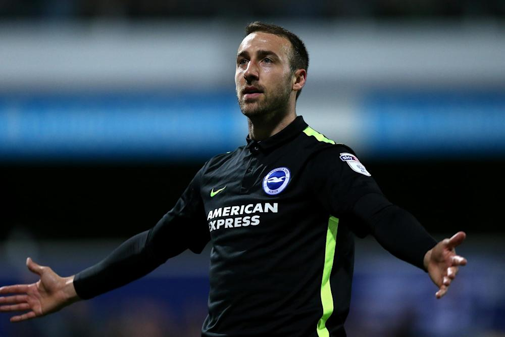 Glenn Murray celebrates his opener for QPR: Getty Images