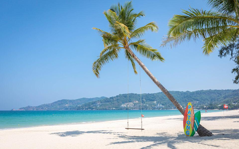 Phuket's economy has been devastated by travel curbs - Getty