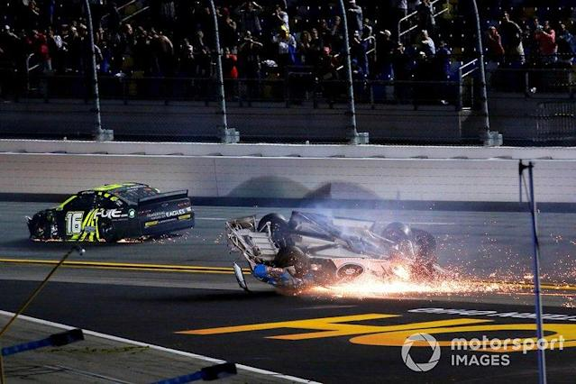 "Ryan Newman, Roush Fenway Racing, Ford Mustang, crash <span class=""copyright"">Russell LaBounty / NKP / Motorsport Images</span>"