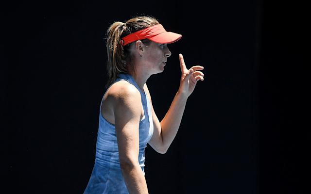 Sharapova was defeated in three sets to local hero Ashleigh Barty - Getty Images AsiaPac