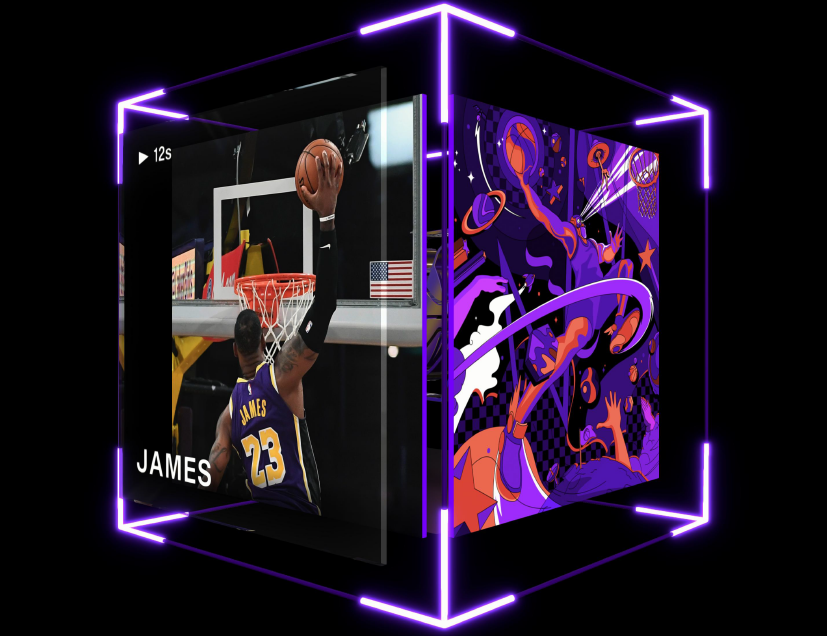At least two LeBron James NBA Top Shot moments have been sold for more than $200,000.