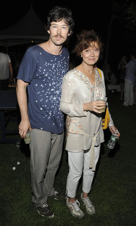 "Susan Sarandon, who recently turned 66, dated 12-years-younger actor Tim Robbins for 23 years. After they split in 2009, she once again ended up with another younger man, this one more than 30 years her junior: Jonathan Bricklin, 33, who also happens to be her partner in her ping-pong club chain, Spin. However, Sarandon has explained that she doesn't intentionally look for less mature men. ""I don't go by age,"" she said on ""The View"" in September. ""I go by the soul of a person. I think that when you really love a person, the age thing, the gender, the color, none of that matters. It's really beyond that."" Do you think Sarandon and Bricklin's love will last?"