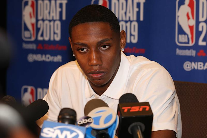 RJ Barrett is already winning Knicks press conferences