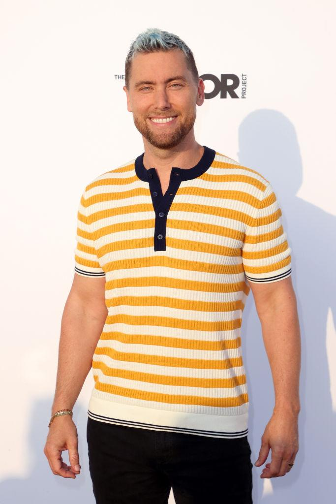 Lance Bass is supporting his longtime friend Britney Spears. (Photo: Kevin Winter/Getty Images)