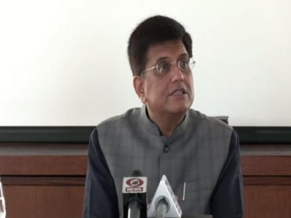 Union Commerce and Industry Minister Piyush Goyal. (Picture/ANI)