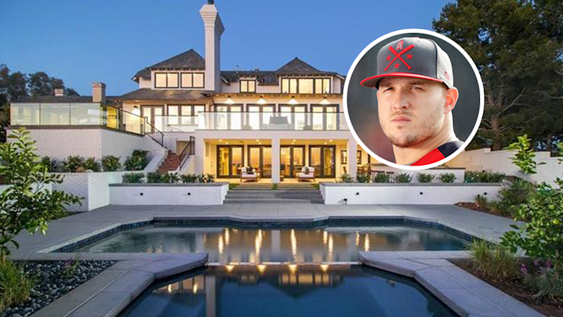 Mike Trout Swings Into 9 Million Newport Beach Mansion