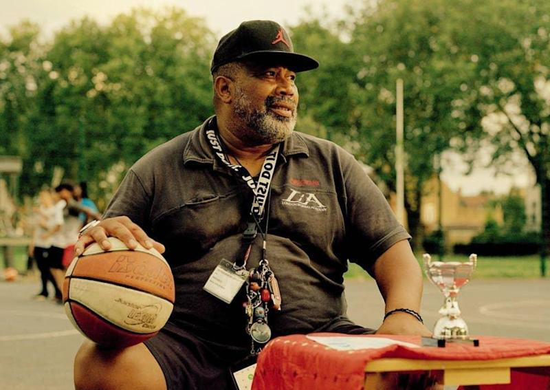 Hesketh Benoit, a retired lecturer, was a former international basketball player and is head coach for Haringey Basketball (Photo: Hesketh Benoit)
